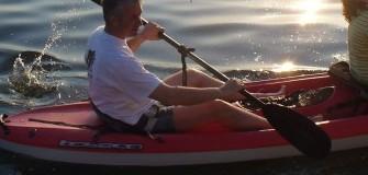 Caiac Snagov Tur - caiac-canoe in Snagov