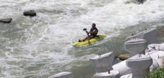 Caiac pe Neajlov - caiac-canoe in Calugareni